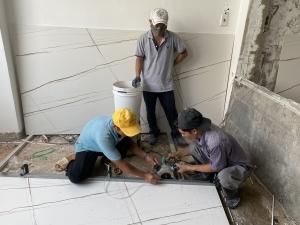 Gạch lát nền cao cấp dựng xây giá trị công trình